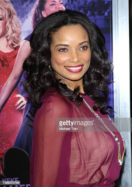 Rochelle Aytes arrives at the Los Angeles premiere of Joyful Noise held at Grauman's Chinese Theatre on January 9 2012 in Hollywood California