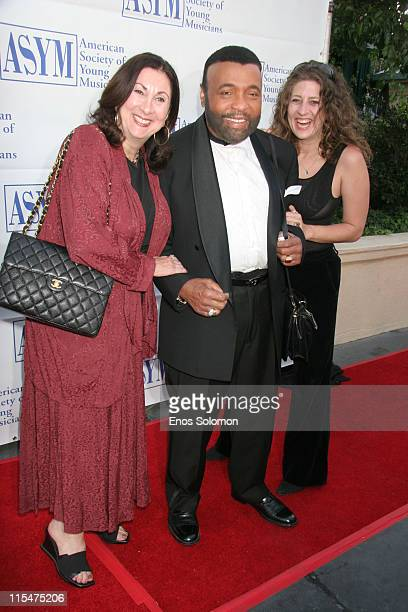 Rochelle Balin Andrae Crouch and Melissa Balin during American Society of Young Musicians 15th Annual Spring Benefit Concert Awards at Celebrity...