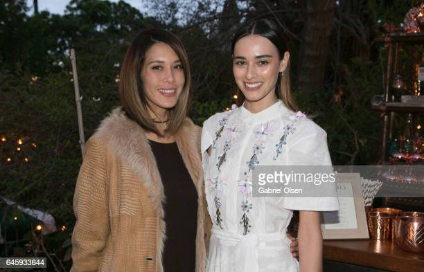 Rochelle Brodin and Margaux Brooke attend the Circus Magazine Oscars Celebration Hosted By Steve Shaw and Jonas Tahlin, CEO Absolut Elyx Sponsored by...