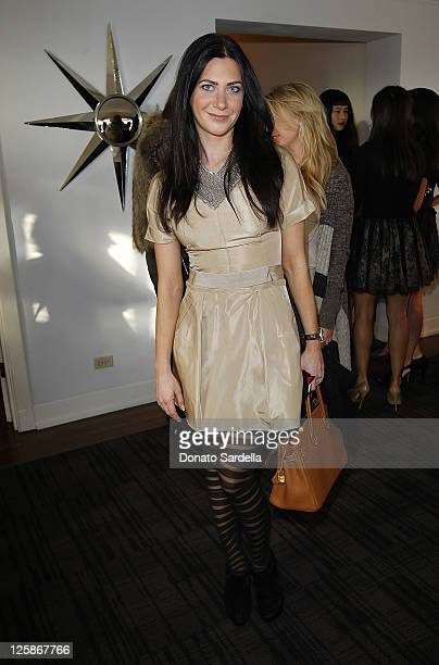 Rochelle Gores attends Vogue and Valentino Celebrate Spring/Summer 2011 Collection Hosted by Jacqui Getty and Gia Coppola Lisa and Nathlie Love Kelly...