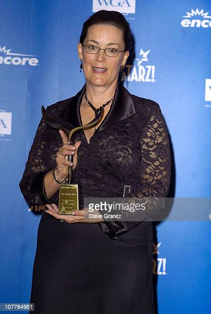 Rochelle Hayes with Screen Laurel Award on behalf of John Michael Hayes