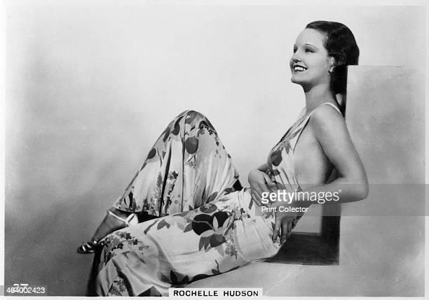 Rochelle Hudson American film actress c1938 Rochelle Hudson appeared in Hollywood films from the early 1930s until the late 1960s Cigarette card from...