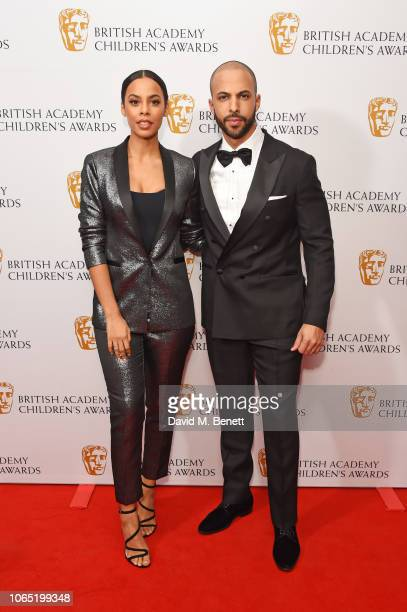 Rochelle Humes and Marvin Humes attend The British Academy Children's Awards 2018 at The Roundhouse on November 25 2018 in London England