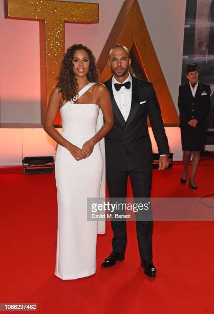 Rochelle Humes and Marvin Humes attend the National Television Awards held at The O2 Arena on January 22 2019 in London England
