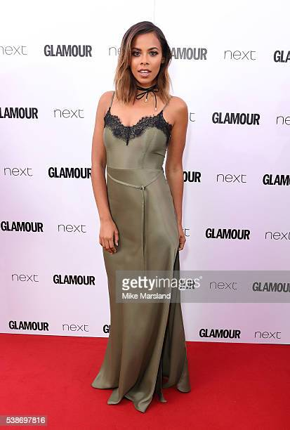 Rochelle Humes arrives for the Glamour Women Of The Year Awards on June 7 2016 in London United Kingdom