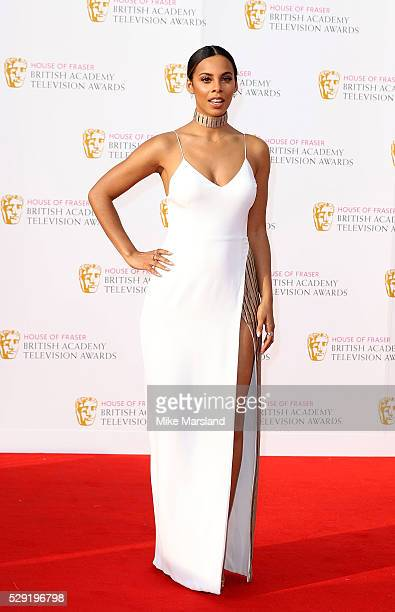 Rochelle Humes arrives for the House Of Fraser British Academy Television Awards 2016 at the Royal Festival Hall on May 8 2016 in London England