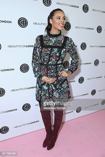 Rochelle Humes attends Beautycon Festival London 2016 at Olympia London on December 3 2016 in London England