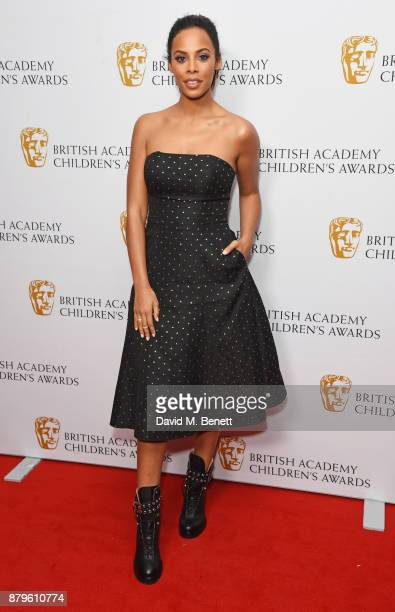 Rochelle Humes attends the BAFTA Children's Awards at The Roundhouse on November 26 2017 in London England