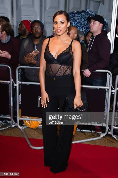 Rochelle Humes attends the Glamour Women of The Year awards 2017 at Berkeley Square Gardens on June 6 2017 in London England