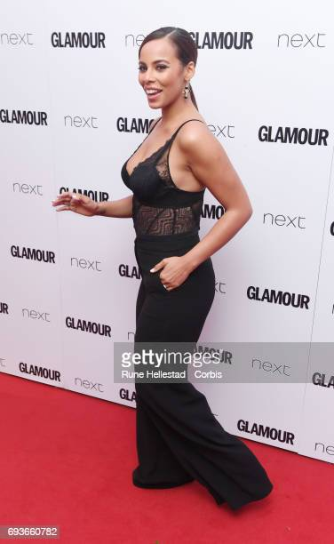 Rochelle Humes attends the Glamour Women of The Year awards 2017 at Berkeley Square Gardens on June 06 2017 in London England
