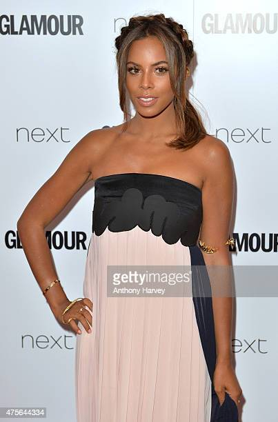 Rochelle Humes attends the Glamour Women Of The Year Awards at Berkeley Square Gardens on June 2 2015 in London England