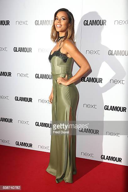 Rochelle Humes attends the Glamour Women of the Year Awards at Berkeley Square Gardens on June 7 2016 in London England