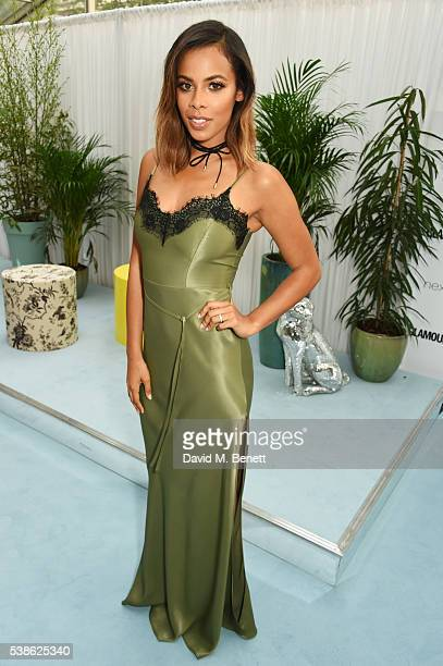 Rochelle Humes attends the Glamour Women Of The Year Awards in Berkeley Square Gardens on June 7 2016 in London United Kingdom