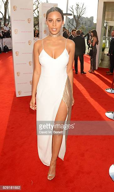 Rochelle Humes attends the House Of Fraser British Academy Television Awards 2016 at the Royal Festival Hall on May 8 2016 in London England