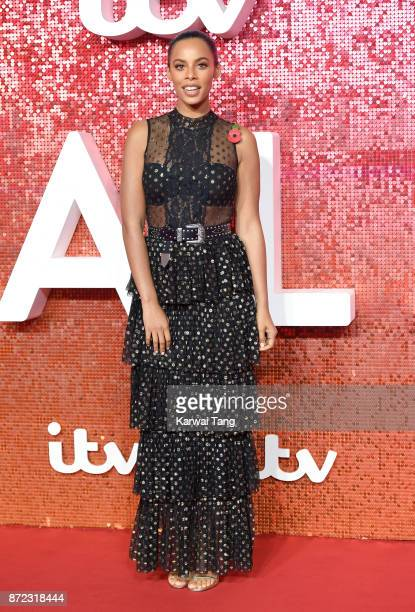 Rochelle Humes attends the ITV Gala at the London Palladium on November 9 2017 in London England