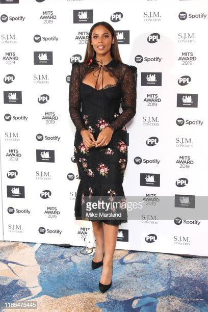 Rochelle Humes attends the Music Industry Awards Gala 2019 at The Grosvenor House Hotel on November 04 2019 in London England