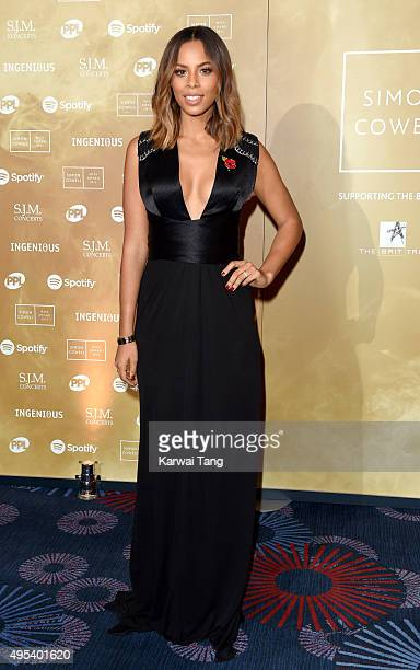 Rochelle Humes attends the Music Industry Trusts Awards in aid of the Nordoff Robbins charity and BRIT Trust at The Grosvenor House Hotel on November...