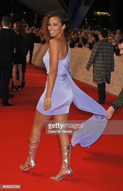 Rochelle Humes attends the National Television Awards 2018 at The O2 Arena on January 23 2018 in London England