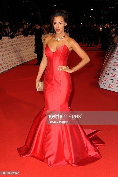 Rochelle Humes attends the National Television Awards at 02 Arena on January 21 2015 in London England