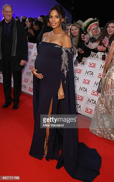 Rochelle Humes attends the National Television Awards at The O2 Arena on January 25 2017 in London England