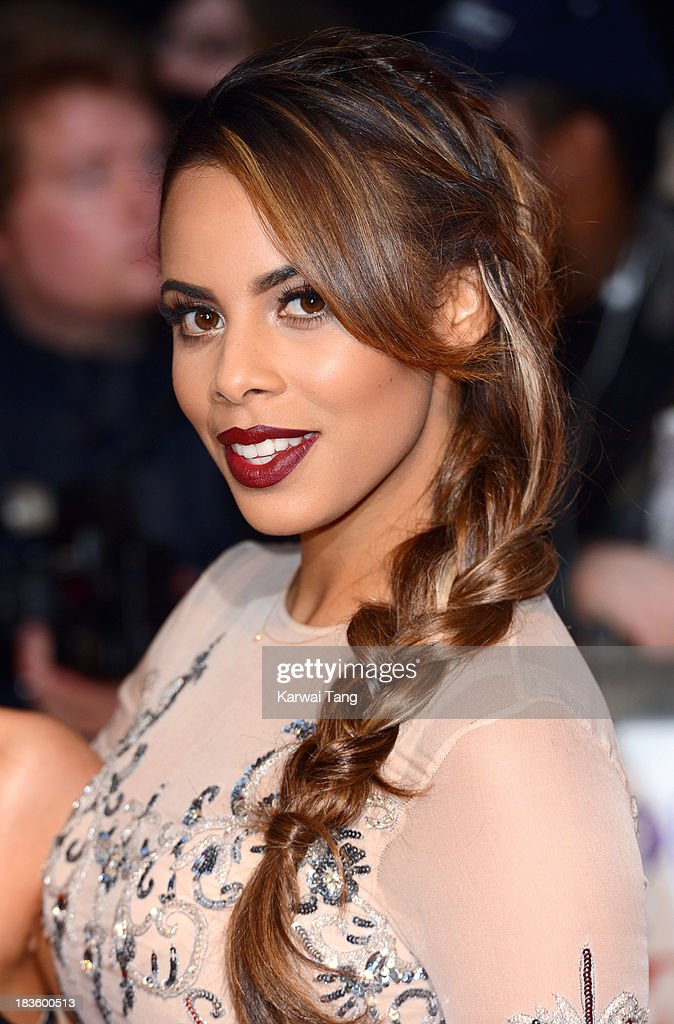 Rochelle Humes attends the Pride of Britain awards at the Grosvenor House, on October 7, 2013 in London, England.