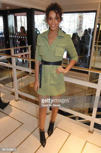 Rochelle Humes attends the TRIC Awards 2018 held at The Grosvenor House Hotel on March 13 2018 in London England