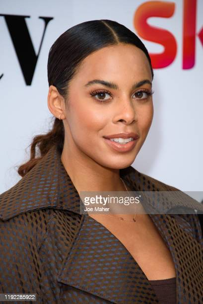 Rochelle Humes during Women in Film TV Awards 2019 at Hilton Park Lane on December 06 2019 in London England