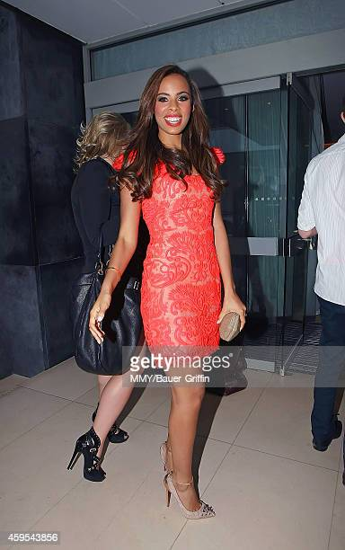 Rochelle Humes is seen on May 26 2012 in London United Kingdom