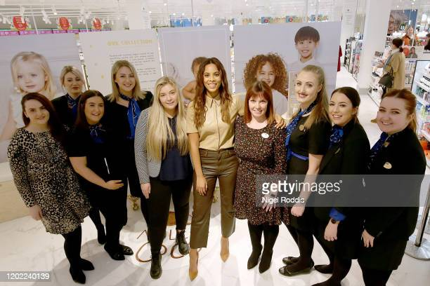 Rochelle Humes New Brand 'My Little Coco' on February 21, 2020 in Sheffield, England.