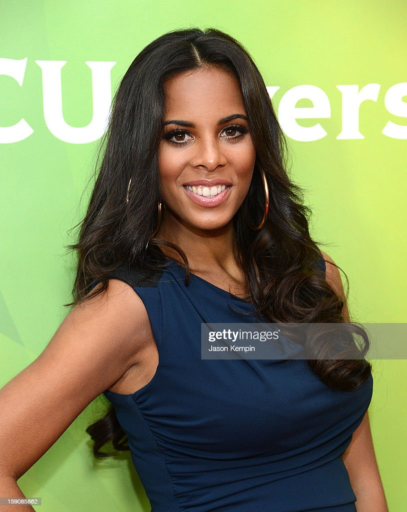 Rochelle Humes of 'The Saturdays' attends NBCUniversal's '2013 Winter TCA Tour' Day 2 at Langham Hotel on January 7, 2013 in Pasadena, California.