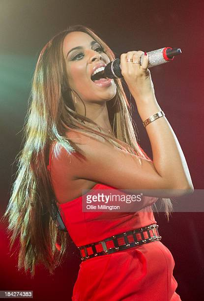 Rochelle Humes of The Saturdays performs at GAY on October 12 2013 in London England