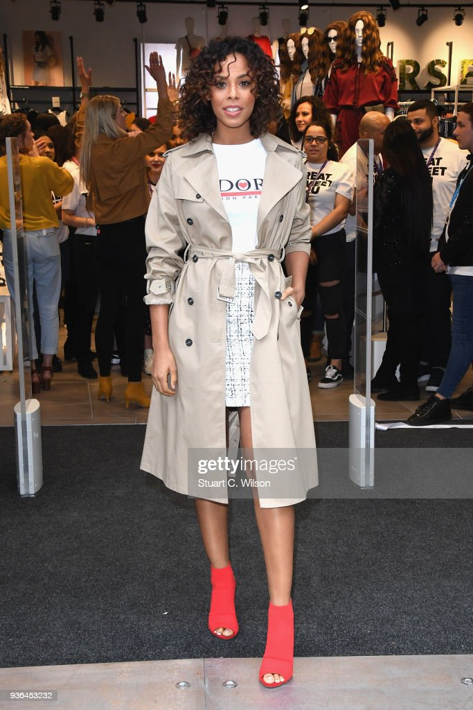 Oxford Street New Look Flagship Store Opening - Photocall