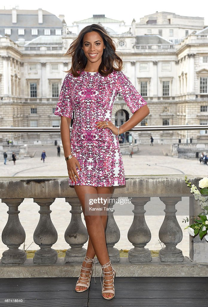 Rochelle Humes Presents Her SS15 Collection For Very