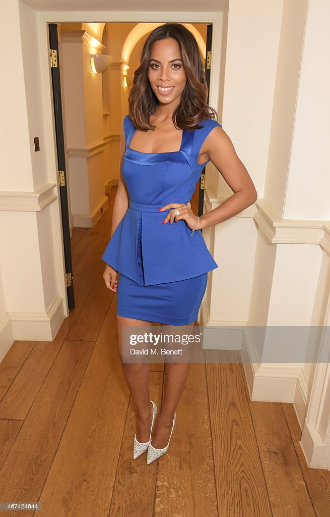Rochelle Humes Presents Her SS15 Collection For Very - VIP Arrivals
