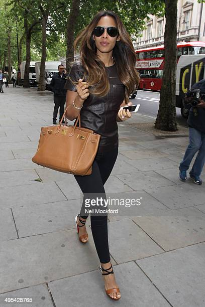 Rochelle Humes seen at the ME Hotel on June 3 2014 in London England