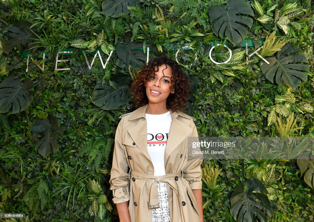 Rochelle Humes Opens New Look Flagship Store On Oxford Street : News Photo