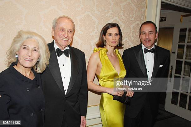 Rochelle Slovin Herbert Schlosser Annette Lauer and Matt Lauer attend MUSEUM OF THE MOVING IMAGE honors MATT LAUER and DEBRA L LEE at St Regis Hotel...