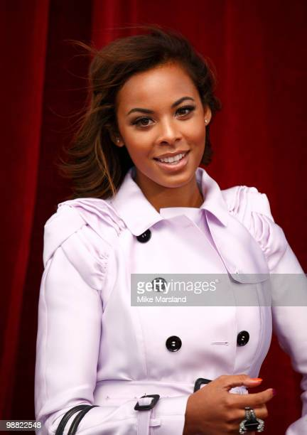 Rochelle Wiseman attends 'An Audience With Michael Buble' at The London Studios on May 3, 2010 in London, England.
