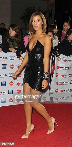 Rochelle Wiseman from The Saturdays attends the Variety Club Showbiz Awards at Grosvenor House on November 15 2009 in London England