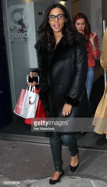 Rochelle Wiseman seen at Heart FM on March 1 2013 in London England