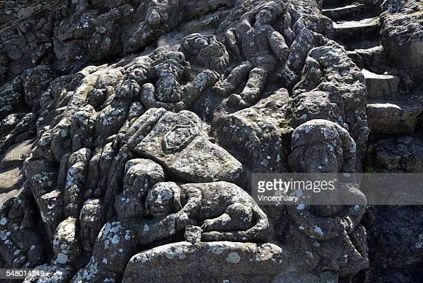 Rochers scuplters Saint Malo Rotheneuf