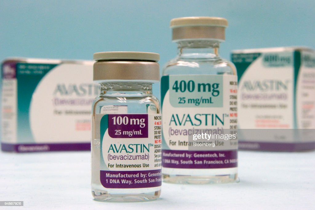 Roche's colon-cancer drug Avastin featured in a Cambridge, Massachusetts pharmacy Wednesday, February 1st. Genentech Inc. said requests by U.S. regulators will delay consideration of the colon-cancer drug Avastin as a treatment for breast cancer.