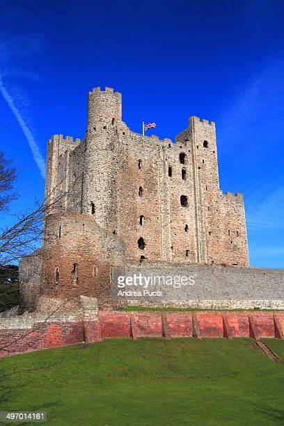 CONTENT] Rochester Castle stands on the east bank of the River Medway in Rochester Kent South East England The 12thcentury keep or stone tower which...