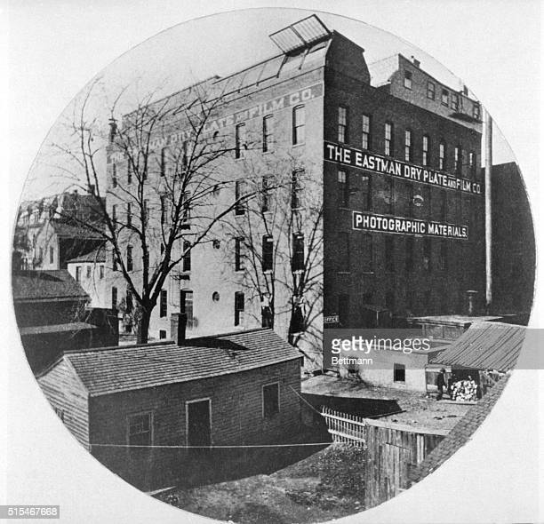 Rochester NY George Eastman's first factory was a third floor loft In 1882 the Eastman Dry Plate Co Strong Eastman proprietors moved into this...