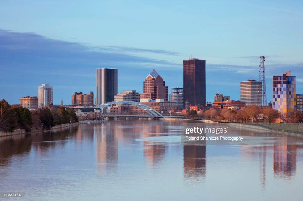 Rochester Skyline : Stock Photo