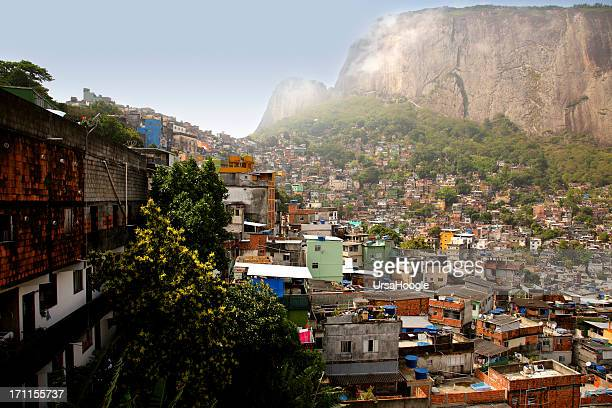 rocinha favela - favela stock pictures, royalty-free photos & images