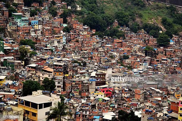 rocinha (little farm) - slum stock pictures, royalty-free photos & images