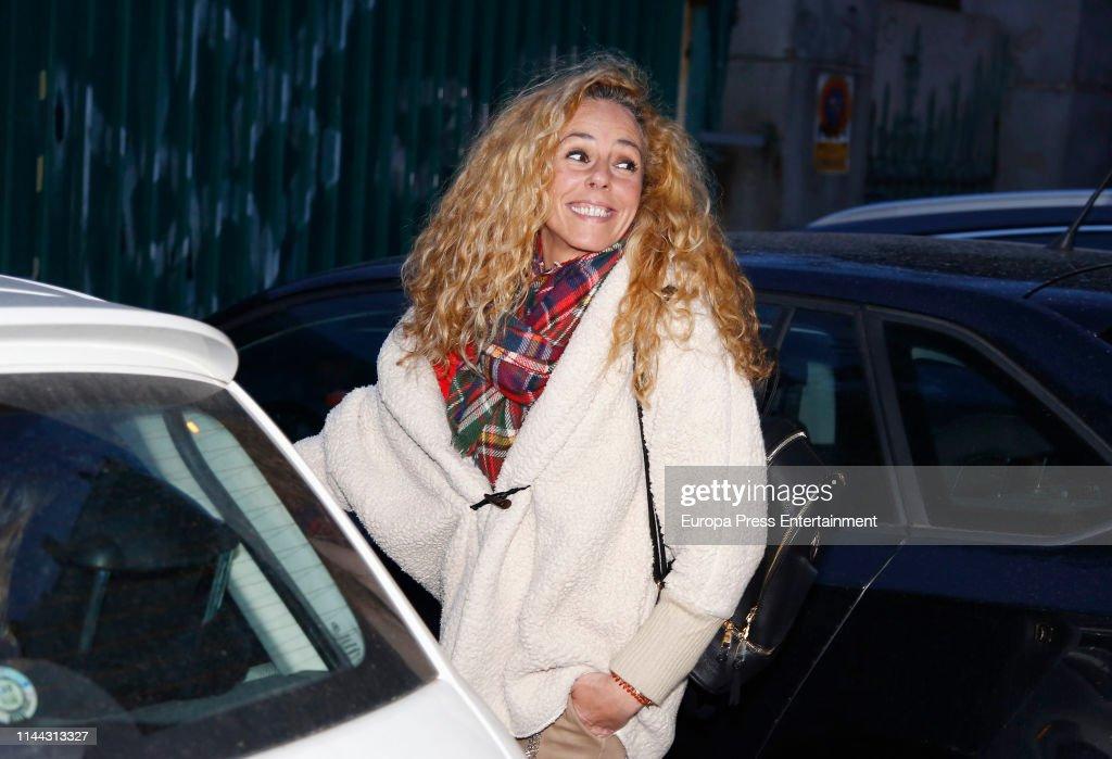 ESP: Celebrity Sighting In Madrid - April 21, 2019