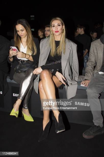 Rocio Martin Berrocal Attends Mercedes Benz Madrid Fashion Week on January 24 2019 in Madrid Spain