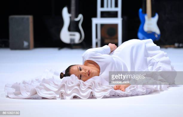 Rocio Morina in the production Fallen from Heaven at The Barbican on October 12 2017 in London England